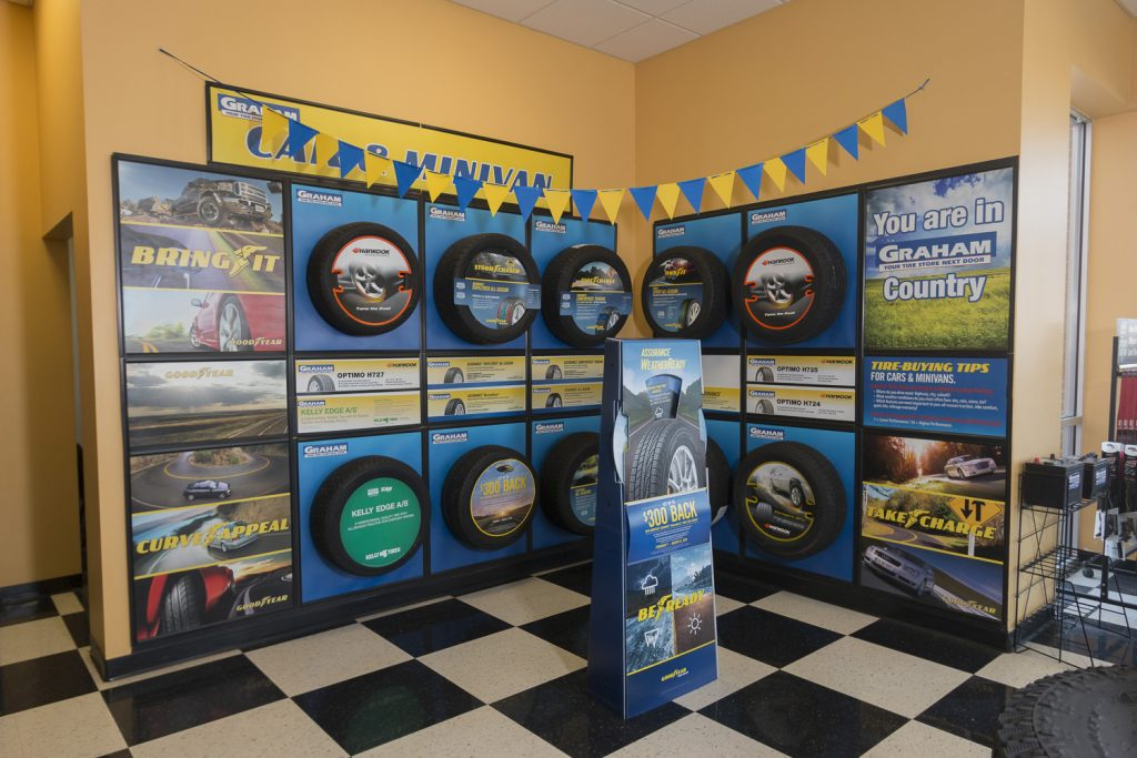 Graham Tire's selection of tires | Tire repair in Lincoln, NE